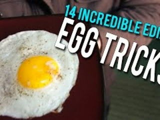 14 Incredible Edible EGG Tricks!