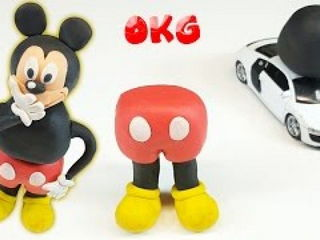 MICKEY MOUSE Stop Motion Play Doh Funny Claymation Video