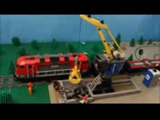 LEGO Portable Toilet - Stop Motion Video