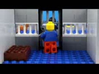 Lego Prison Break - Lego Stop Motion Video