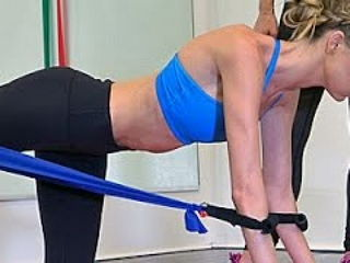 Martha Hunt: Workout amped for Victoria's Secret show