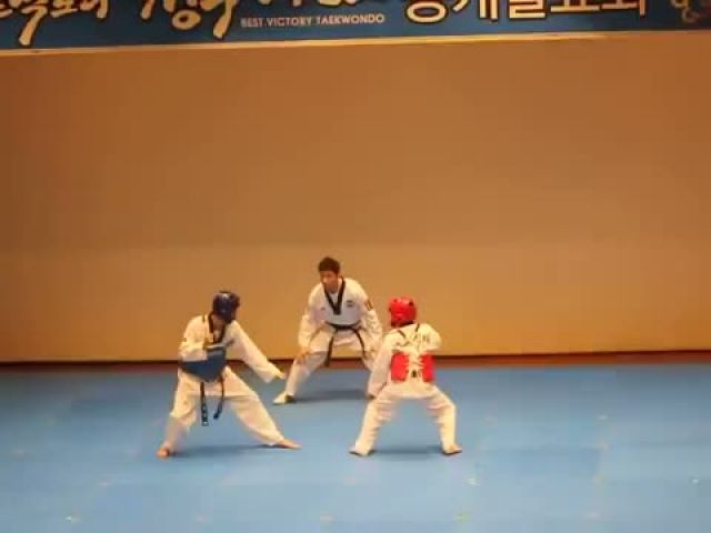 Hilarious Korean Tae Kwon Do Fight!