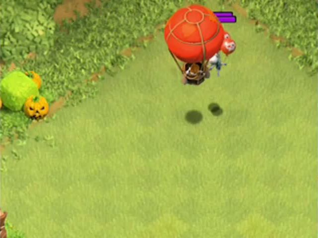 Clash of clans - SKELETON TRAP (Air and ground mode)