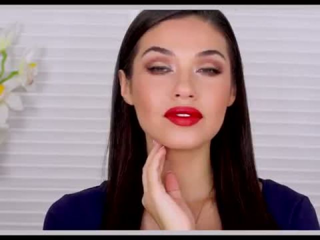 Scarlett Johansson Inspired Holiday Makeup Holiday Party Drugstore Makeup Tutorial Eman