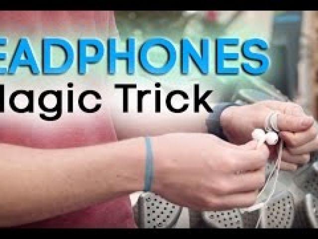 Magic Tricks Revealed Free Cool Simple Trick Using Headphones! Everyday Magic!