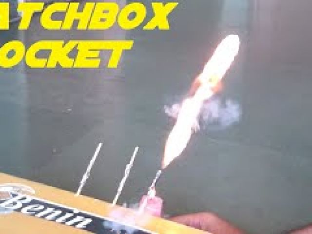 How To Make a Simplest Matchbox Rocket
