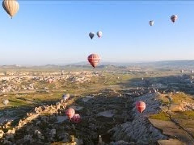 Hot Air Balloon Crash in Capadoccia