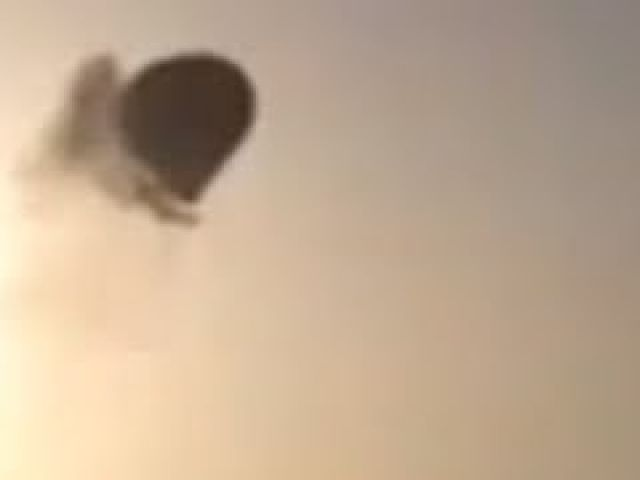 Hot Air Balloon Crash - Luxor Egypt