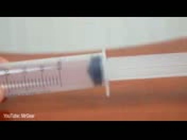 How To Make The Easiest Gun Using A Syringe