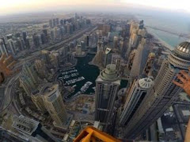 Climbing the Worlds Tallest TOWER CRANE!