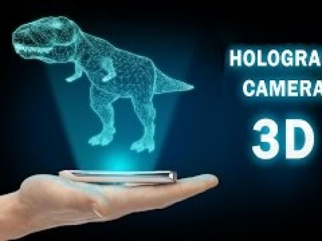 How to make a 3d hologram projector using your phone