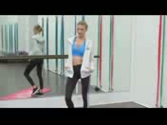Martha Hunt: Workout amped for Victoria's Secret show