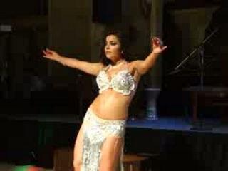 Alla Kushnir Dancing To Shik Shak Shok