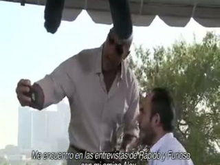 La Roca y Vin Diesel son Rápidos y Furiosos