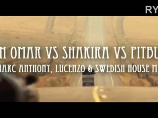 Don Omar vs Shakira vs Pitbull - Danza Rabiosa Kuduro ft. Marc Anthony-Lucenzo-SHM