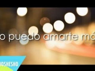 More Than This - Spanish Version
