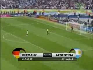 Germany vs Argentina