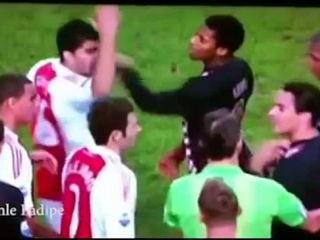 Footballer Bites Opponents !
