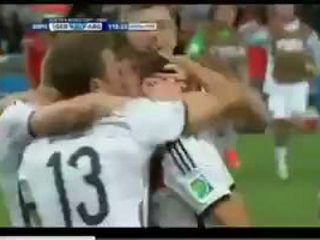 The Winning Goal of Germany World Cup 2014