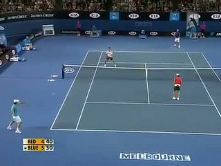 Hit For Haiti Funniest Scene In Tennis Match