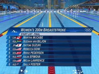 Rebecca Soni Breaks World Record - 200m Breaststroke - London 2012 Olympics