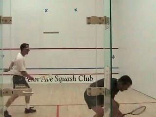 squash broken glass funny moments
