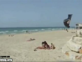 Front Flip Fail and Eat Sand!!!