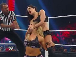 Hot Natalya vs. Brie Bella- Raw