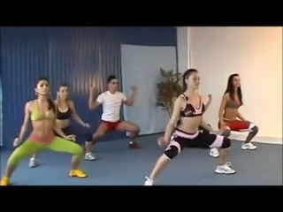Hot Aerobics Dance to lose weight