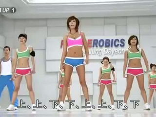 Workout with Korean Girls