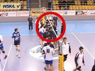 A Serious Volleyball Fight!