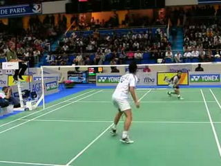 Lin Dan vs Taufik - Great rally