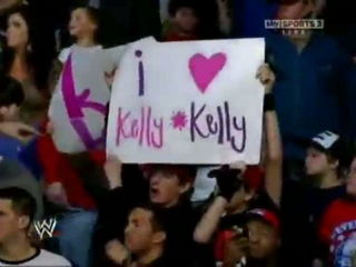 Kelly Kelly & Eve Torres vs Bella Twins- WWE RAW 01-02-12