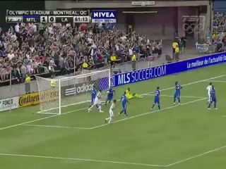 David Beckham goal on free kick vs Montreal Impact