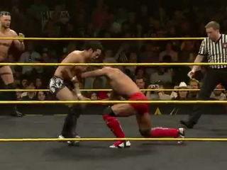 Finn Bálor & Hideo Itami vs. Tyson Kidd & Justin Gabriel- WWE NXT