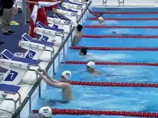 Swimming Men's 100m Backstroke - S6 Final - London 2012 Paralympic Games