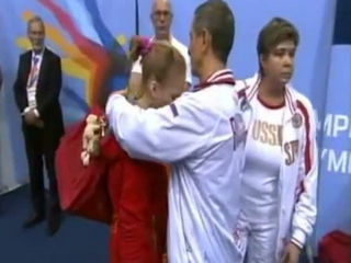 Very sad moments in gymnastics