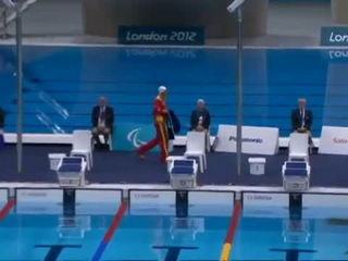 Swimming - Men's 100m Butterfly - S9 Final - London 2012 ParalympicGames