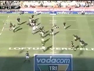 Ali Williams vs Johan Muller (NZ vs SA)