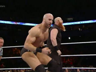 Erick Rowan vs. Cesaro- WWE Superstars