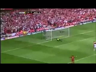 [HD] Steven Gerrard Goal vs West Ham United FA Cup Final 2006 90th Minute