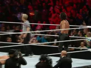 Unseen footage of Sting's arrival and Brock's beatdown on Raw
