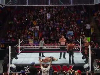 John Cena & Dean Ambrose vs. Randy Orton