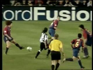 22-04-2003 - UEFA Champions League Quarter-final second leg - Barcellona-Juventus 1-2