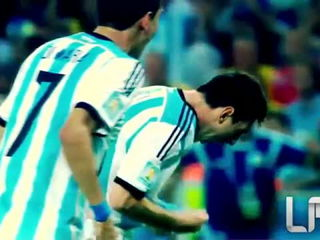 Lionel Messi - World Cup 2014 - Runs And Dribbling Skills