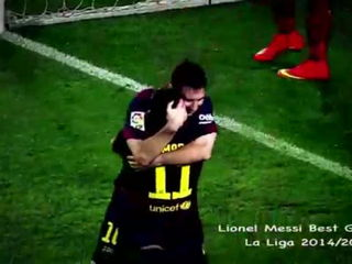 Lionel Messi - Amazing Goals Show - 2015 HD