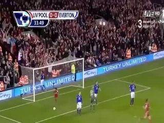 Gerrard's Hattrick vs. Everton