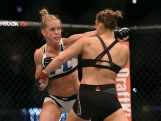 Ronda Rousey vs Holly Holm Full Match Highlights