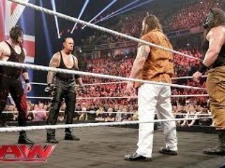WWE The Undertaker and Demon Kane reemerge to unleash hell upon The Wyatt Family