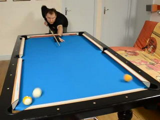 Trickshots for beginners #1 - 台球 - Pool Trick Shot & Artistic Billiard training lesson